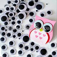 (10 грамм,d=8мм) Подвижные глазки для игрушек d=8мм (прим.200-220 глазок), фото 1