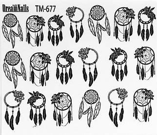 Слайдер дизайн для ногтей TM-677