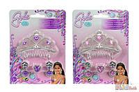 """Набор украшений """"Диадема принцессы"""" с серьгами и кольцом, 2 вида, 5 + Simba 4006592505066"""