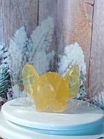 Блестящее гель-мыло ЖОПА С УШАМИ, желтого цвета, бесподобный подарок друзьям.