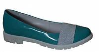 Туфли женские на низком ходу из натуральной кожи от производителя модель ДС - 30