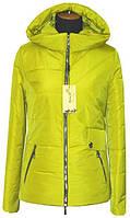 Женская куртка весенняя с капюшоном, 42- 56 размеры