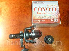 Катушка рыболовная coyote 5000rd 6+1bb