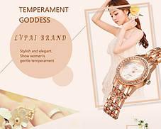 Часы женские Lvpai Svarowski три цвета, фото 3