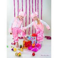 Карнавальный костюм Свинки,Поросенок велюр,мех, фото 1