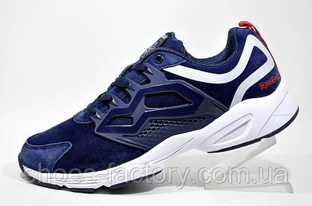 Мужские кроссовки в стиле Reebok Insta Fury, White\Dark Blue, фото 2