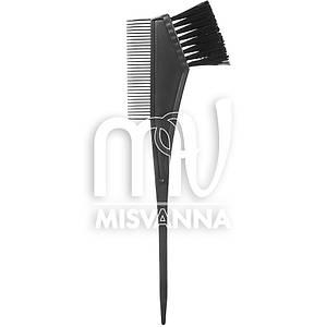 Расческа - кисть для покраски волос Salon Professional, двухстороняя
