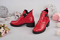 Ботинки Дизель натуральная кожа с пряжкой в разном цвете
