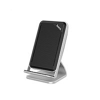 Беспроводная зарядка Hoco WiseWind Серебристая (CW11)