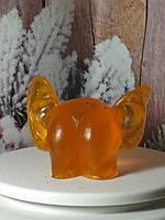 Потрясающее гель-мыло ЖОПА С УШАМИ, оранжевый цвет, сказочный подарок родным и близким