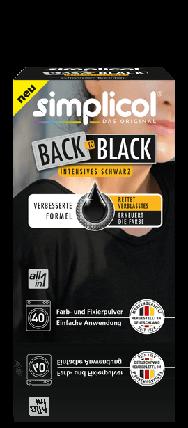Краска Simplicol для восстановления цвета вещей 400г черная, фото 2