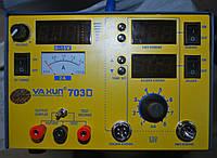 3в1: Паяльная станция(паяльник+фен) + Лабораторный блок питания 15В 2А