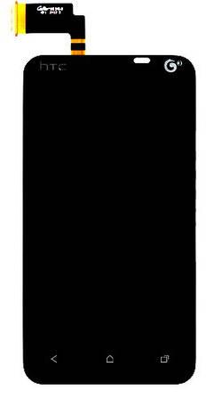 Дисплей HTC T328t Desire VT with touchscreen black orig