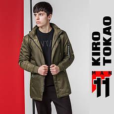 11 Kiro Tokao | Японская осенне-весенняя парка 66205 хаки
