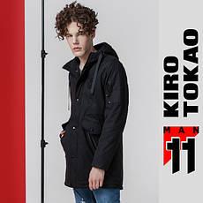 11 Kiro Tokao | Парка японская мужская весна-осень 8888 черный