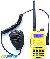 Радиостанция Baofeng UV-5R + тангента / Радіостанція Баофенг UV-5R + тангента