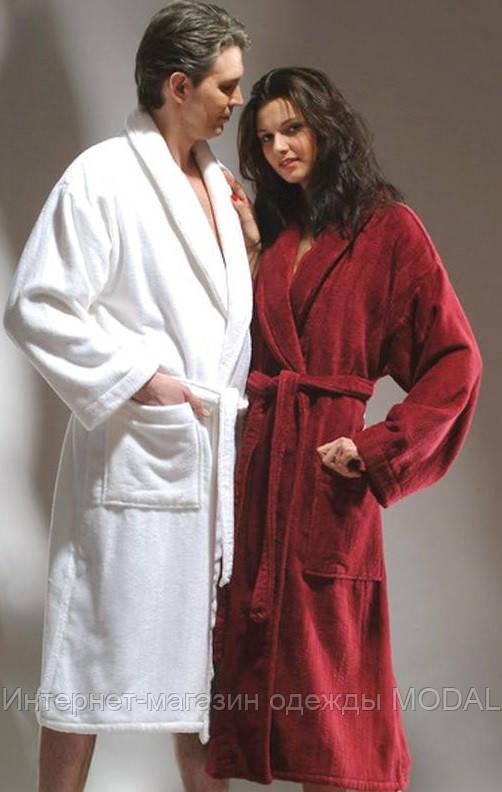 Махровый банный халат 44-46 (разные цвета) - Интернет-магазин одежды MODAL в Киеве