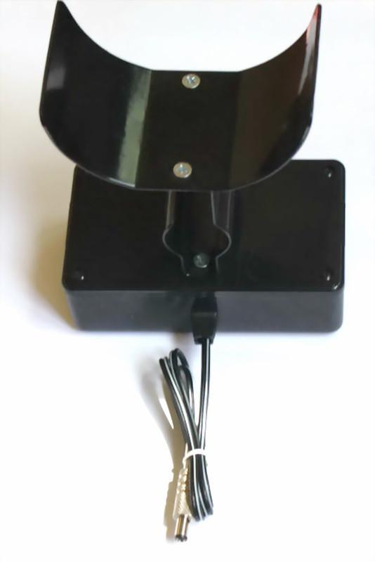 Подлокотник с аккумуляторным отсеком и аккумулятором 6 вольт 1.3 ампера