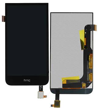 Дисплей HTC Desire 616 Dual Sim with touchscreen black orig (LCD TEST)