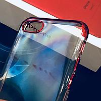 Силиконовый чехол для iPhone 7 / 8  Red