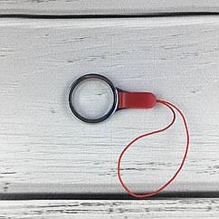 Брелок для телефона красный