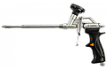 Пістолет для монтажної піни, головка PTFE, пластмас. черн. рукоятка/TOPEX