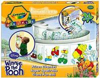 Набор для творчества «Винни Пух - Волшебный рулон» Crayola 5025123105116
