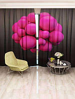 Фотоштора Розовые пузыри (20855_1_1)
