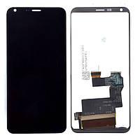 Дисплей LG Q6 with touchscreen black дисплей+сенсор екран