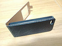 Чехол-флип для iPhone 5 - 5s черный