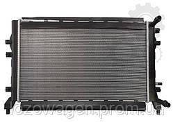 Радиатор двигателя VAG 1.2+1.4TSI NRF 53884