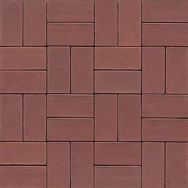 Тротуарная плитка MUHR PK 40 Nr. 03 Naturrot - Натурально красный