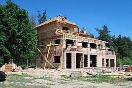 Проект частного жилого дома 500м2 4