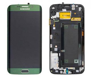 Дисплей Samsung SM-G925F Galaxy S6 Edge emerald green with touchscreen service orig