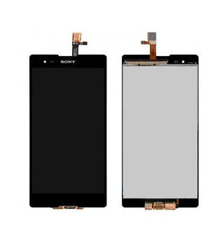 Дисплей Sony D5322 Xperia T2 Ultra DS, black, with touchscreen orig