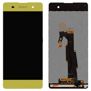 Дисплей Sony F3112 Xperia XA/F3111/F3113/F3115/F3116 with touchscreen lime gold orig
