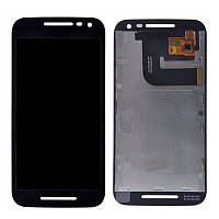 Дисплей Motorola XT1540 Moto G3/XT1541/XT1544/XT1548/XT1550 with touchscreen black orig