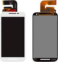 Дисплей Motorola XT1540 Moto G3/XT1541/XT1544/XT1548/XT1550 with touchscreen white orig