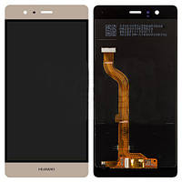 Huawei P9 Dual Sim with touchscreen gold orig дисплей+сенсор екран