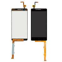Дисплей Lenovo A6010 K3 with touchscreen black