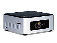 "Barebone-неттоп Intel Nuc Kit (NUC5PPYH) Celeron N3050 1.6 ГГц / 8Gb ОЗУ / 250Gb HDD ""Over-Stock"""