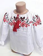 Сорочка-вышиванка для девочек  2202/16