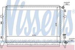Радиатор двигателя VAG 1.2+1.4TSI Van Wezel 58002295