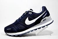 Кроссовки мужские Nike Air Waffle Trainer, Тёмно-синий\Белый