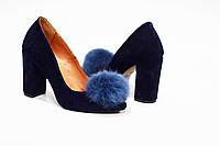 Стильные женские туфли из натуральной замши от TroisRois