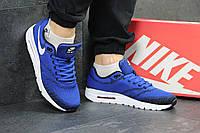 Кроссовки мужские ярко синие Nike Air Max 4552