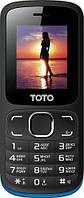 Мобильный телефон TOTO A1 Black/Blue