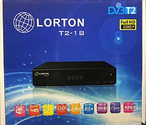 LORTON T2-18 HD цифровой эфирный DVB-T2 ресивер