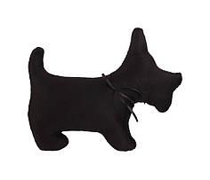 Собака Силуэт черная 19*23 см GULL (1721)