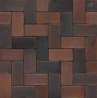 Клинкерное мощение MUHR PK 40 Nr. 04S    Rotbraun-bunt Spezial - Красно-коричневый пестрый Специал